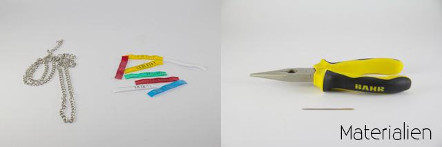 DIY Accessoires Kette selber basteln