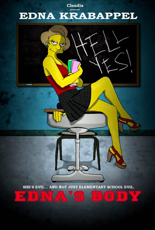 posters cinema simpsons - Jennifers's Body