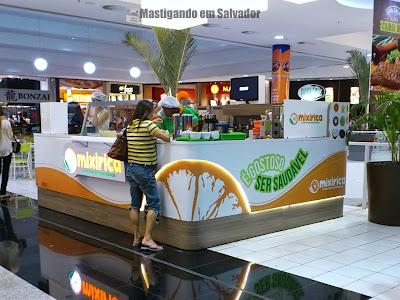 Mixirica Alimentação Equilibrada: Quiosque do Shopping Paralela