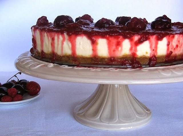 Cheesecake açoriano