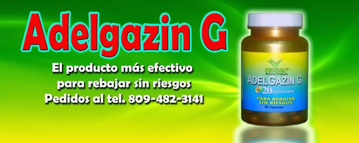 Adelgazin G el más efectivo para rebajar sin dietas ni ejercicios