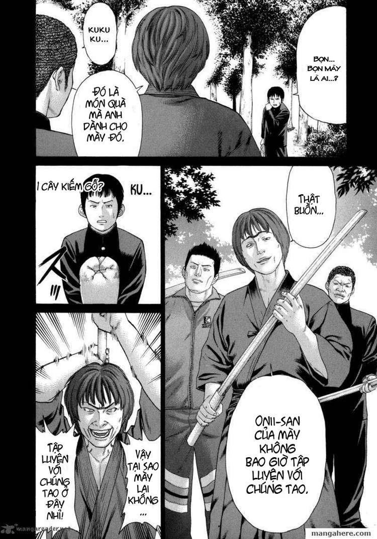 Karate Shoukoushi Kohinata Minoru chap 81 Trang 14