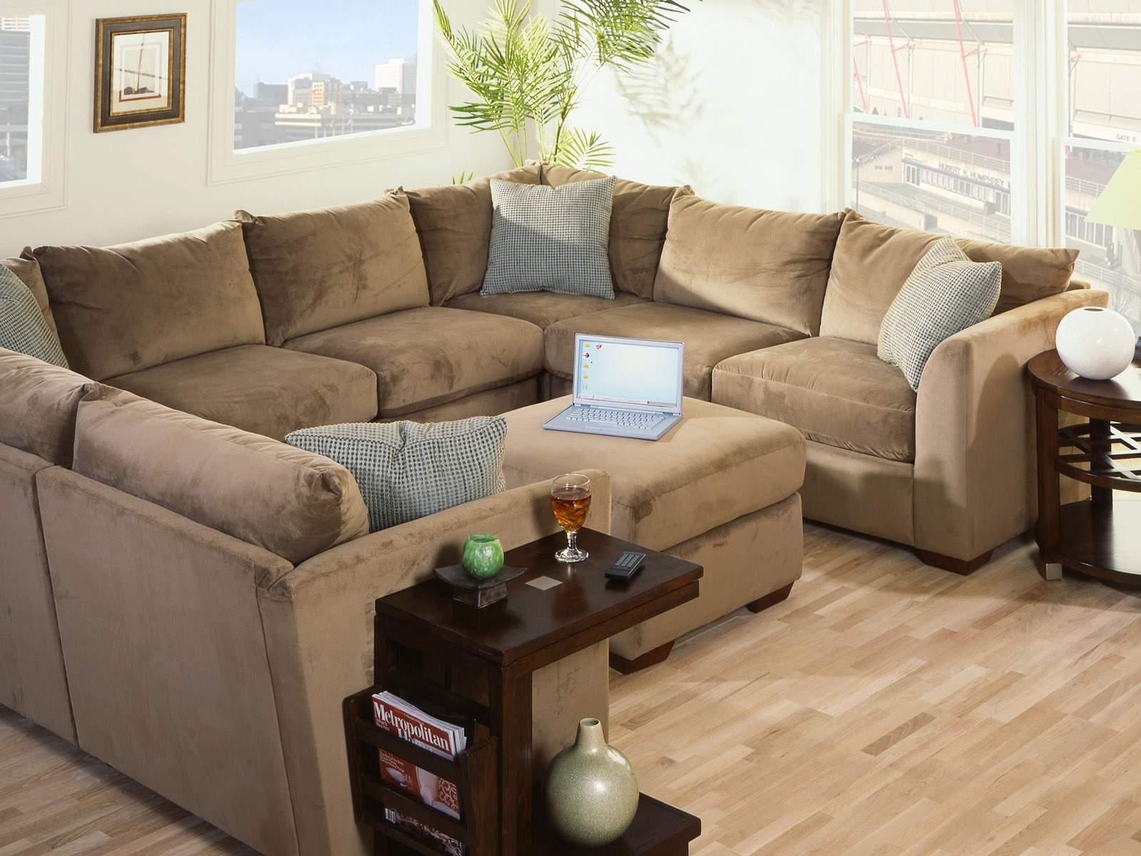 Interior design ideas for Brown couch decorating ideas
