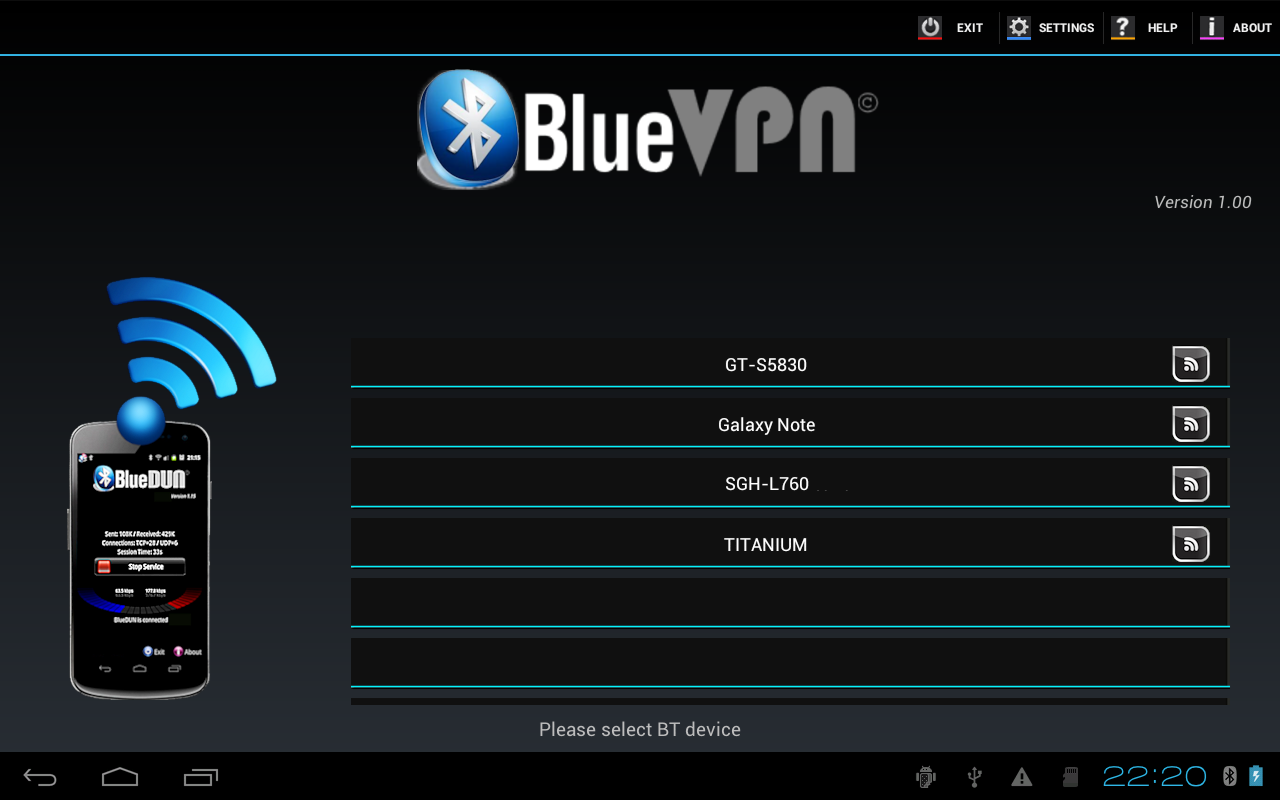 Phone How To Tether Android Phone To Android Tablet bluedun bluevpn bluetooth tethering for android devices making in this post we will see how to pair two on the second device host router install t