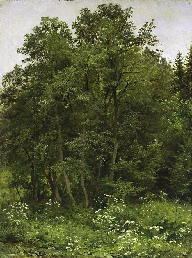 The Flying Clubhouse: Shishkin's Forest // At the Edge of the Forest, 1885