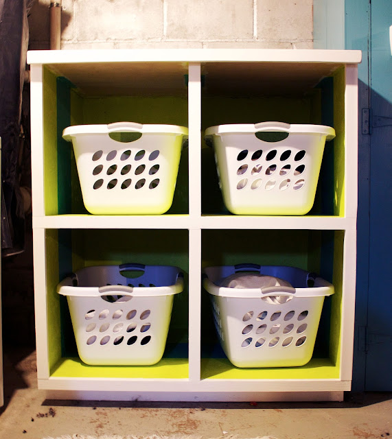 The Impatient Gardner -- laundry organization