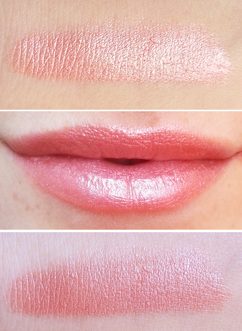 Youngblood lipstick Mimosa swatch swatches