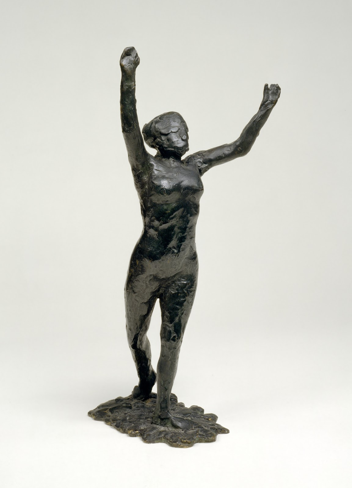 Edgar  Degas  Dancer  Moving  Forward C  Arms  Raised C   E