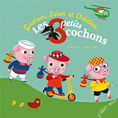 Gaston, Léon et Odilon, LES TROIS PETITS COCHONS