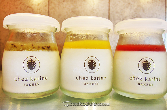 Foodie from the Metro - Chez Karine Bakery Panna Cotta Flavors