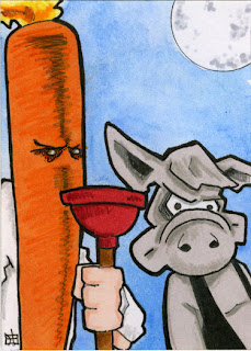 cerebus, flaming carrot