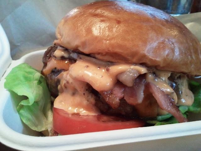 The Smokey Robinson burger at Patty & Bun