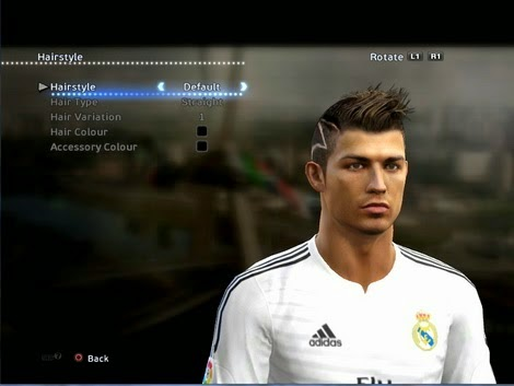 HD wallpapers download hairstyle cristiano ronaldo pes 2013