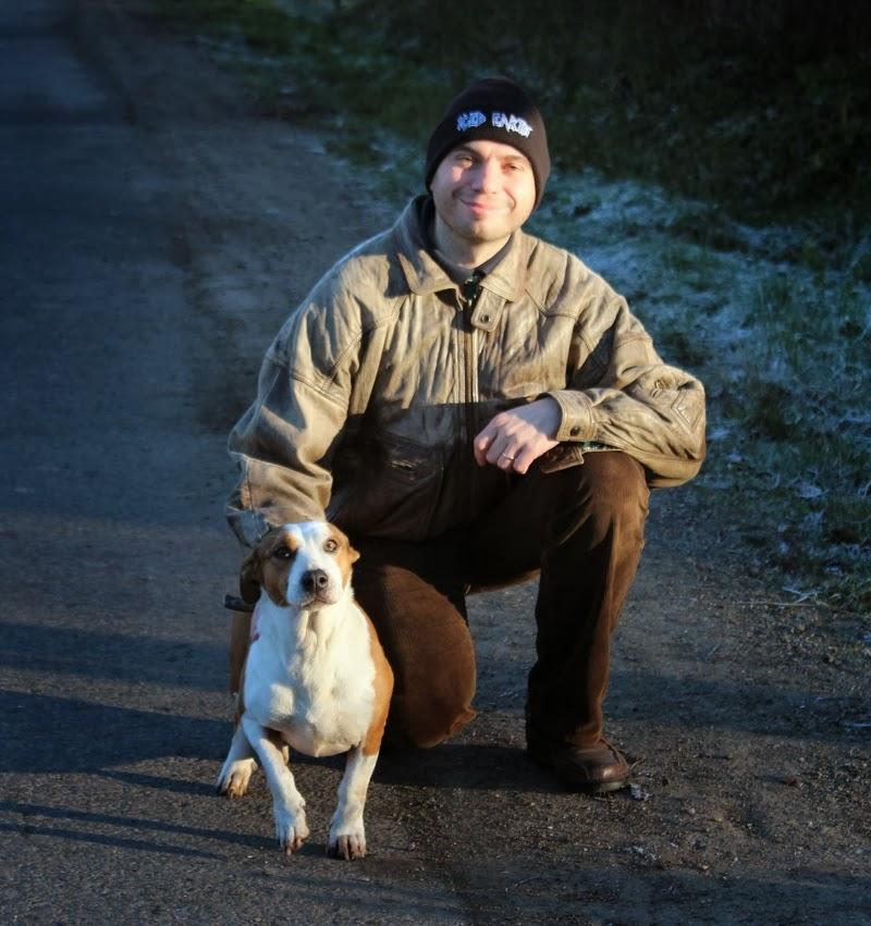 a borostás és a kutya