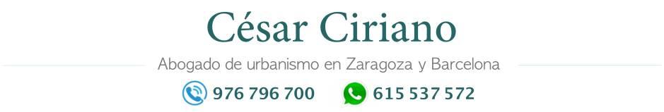 César David Ciriano Vela - Abogado de urbanismo en Zaragoza - Tfno. 976 79 67 00