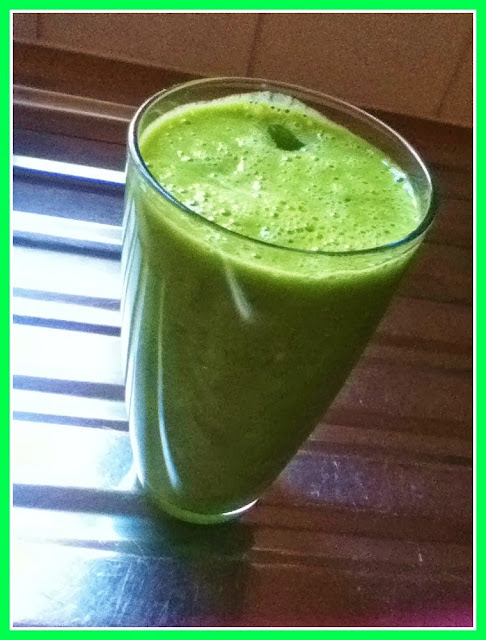 Just Add Icing & Sprinkles: Delicious Green Smoothie