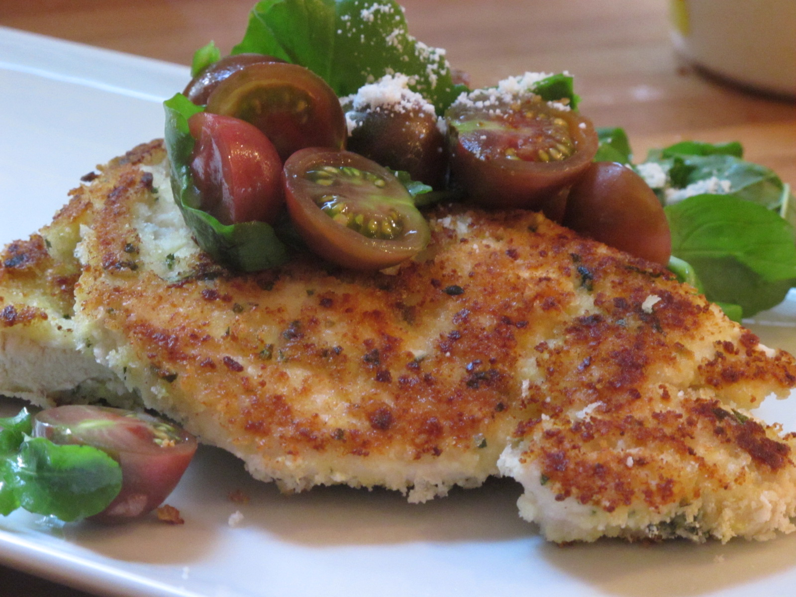 CCKS AFTER HOURS: Chicken Milanese with Tomato Salad
