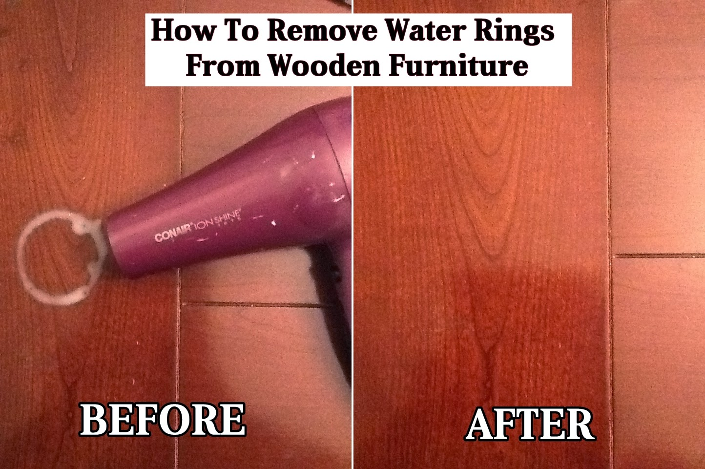 how to remove water rings from wooden furniture diy craft projects