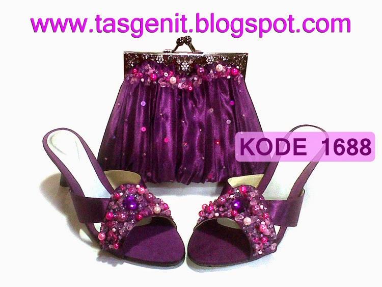 sandal pesta cantik, sepatu pesta cantik, sandal pengantin, sandal kebaya