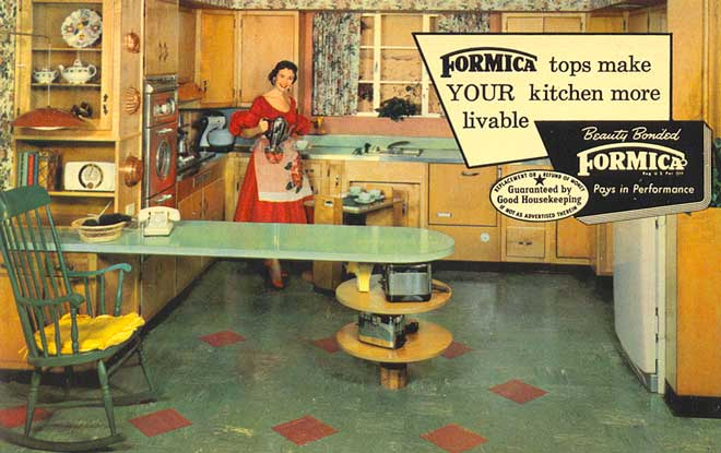 1960s Kitchens postcardy: the postcard explorer: old-fashioned kitchens