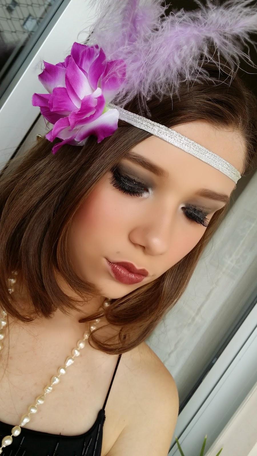 maquiagem anos 20