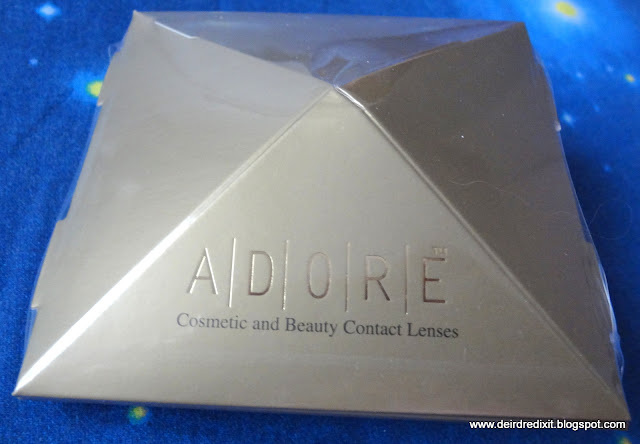 Packaging delle lenti a contatto Eyemed linea Adore