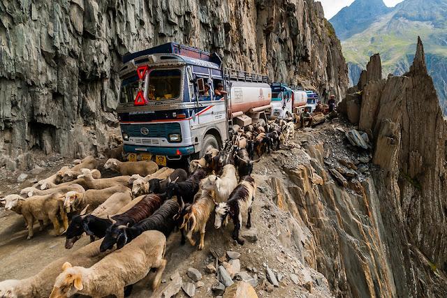Zojila Pass, India
