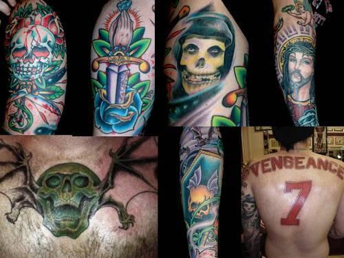 Donny Ikimodeza Blog: Makna Dari Tatto Personil A7X