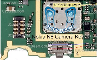 Nokia N8 Camera Key Jumper