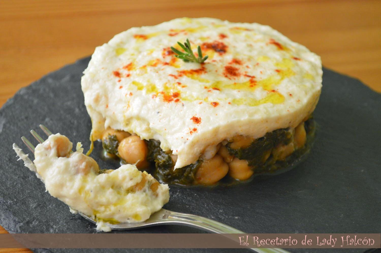 El recetario de lady halcon garbanzos con espinacas y - Garbanzos espinacas bacalao ...