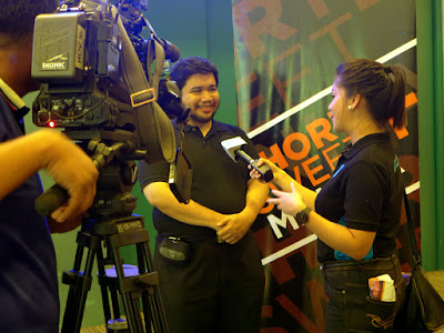 PTV 4 interviews Dr. Joem Antonio on Short+Sweet Manila 2015