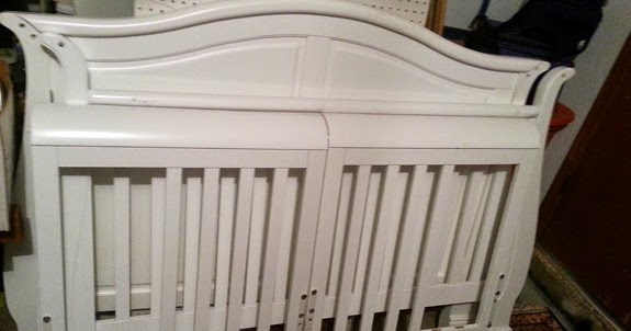 sold   4 in 1 convertible wood crib