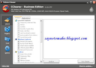 CCleaner 3.18.1707 Business Edition
