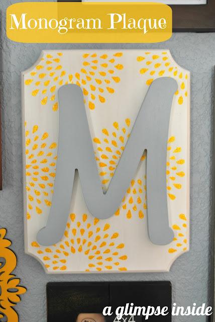http://www.aglimpseinsideblog.com/2012/10/monogram-plaque.html