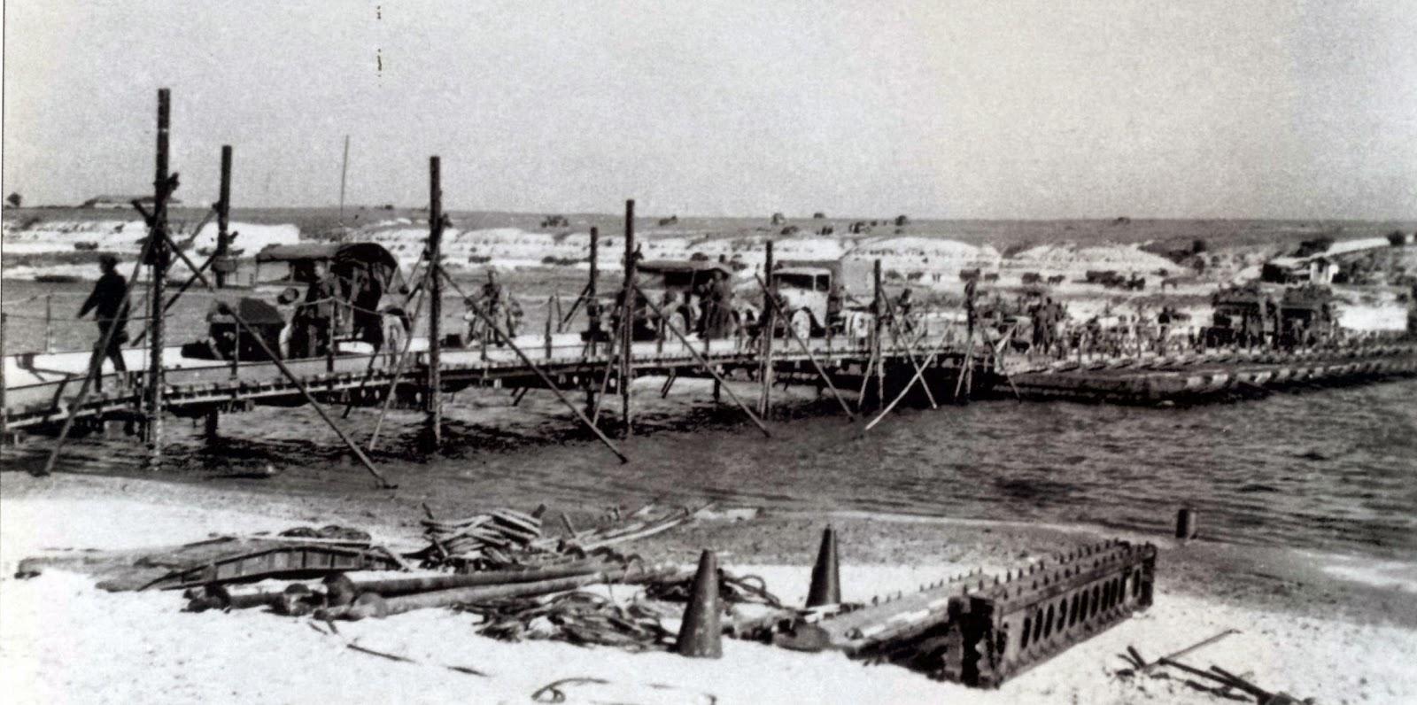 Jembatan ponton dari jenis 8 tonne bruckengerat b. bruckengerat b bisa