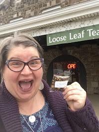 Ohio Tea Company,  1/2 oz free tea, Canton OH 2019