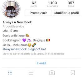 Me suivre sur Instagram