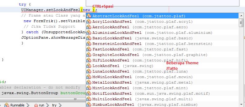 Mempercantik Tampilan Java dengan JTatto
