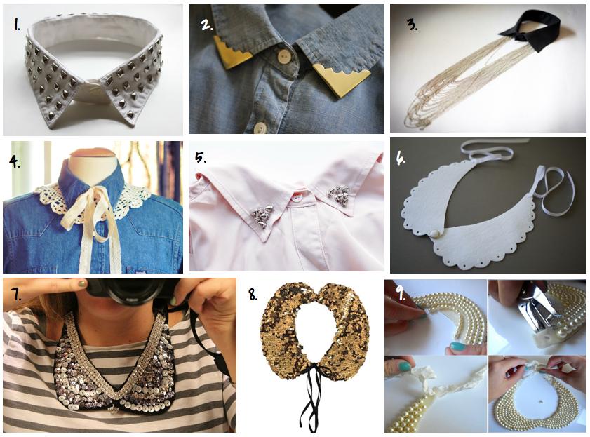 Как сделать украшения на шею пошаговое