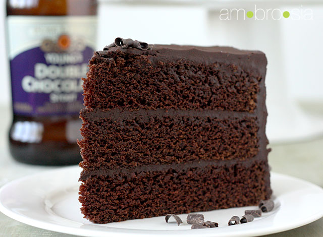 ambrosia: Chocolate Stout Cake