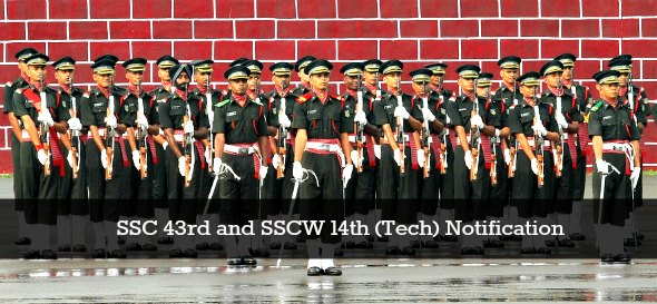 SSC 43rd and SSCW 14th (Tech) Notification