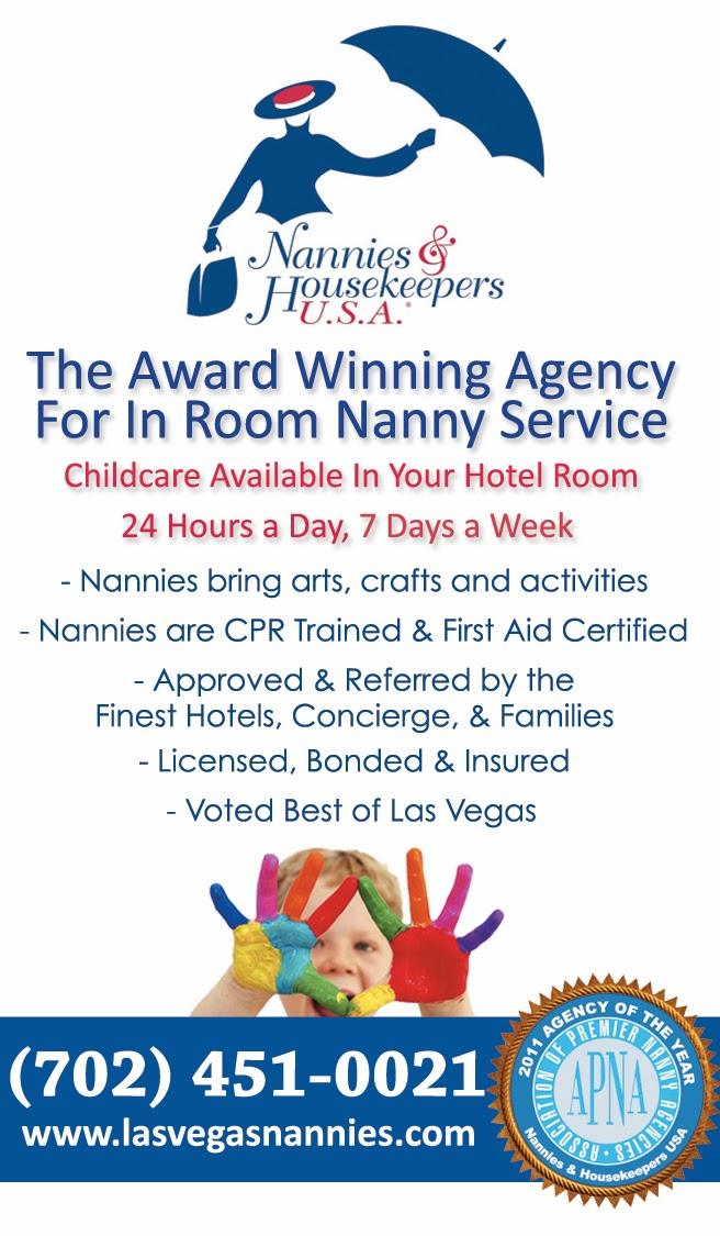 Hotel Nannies & Babysitters Las Vegas