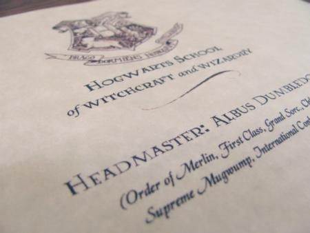 Hello Paper Moon Hogwarts Here I Come – Hogwarts Acceptance Letter