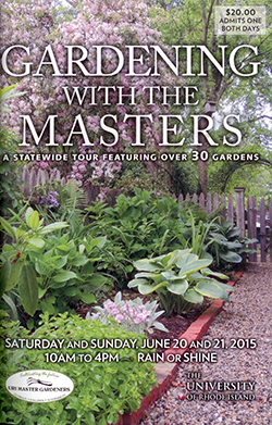 2015 URI Master Gardener Garden Tour