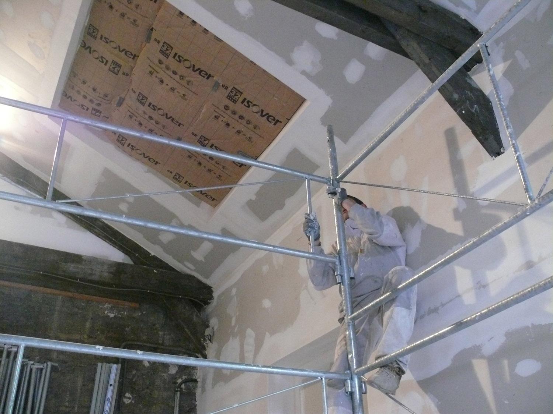 Pl tre staff stuc pl trier plaquiste pl trier staffeur for Isolation mur interieur placo