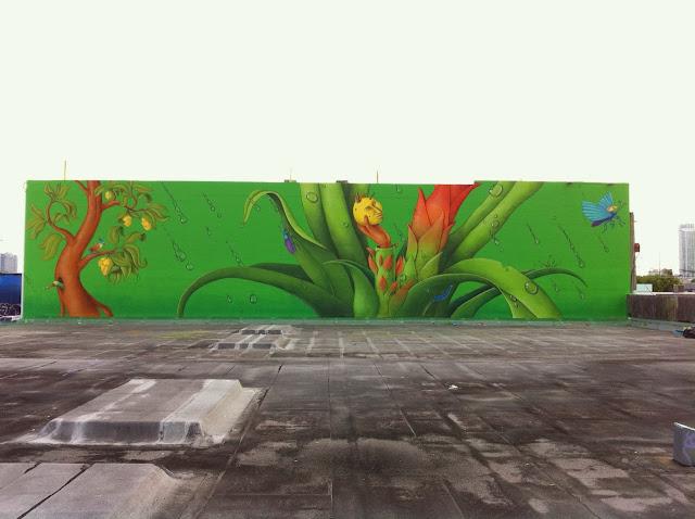 Street Art By Ukrainian Artists Interesni Kazki On The Streets Of Miami For Art Basel '13. 2
