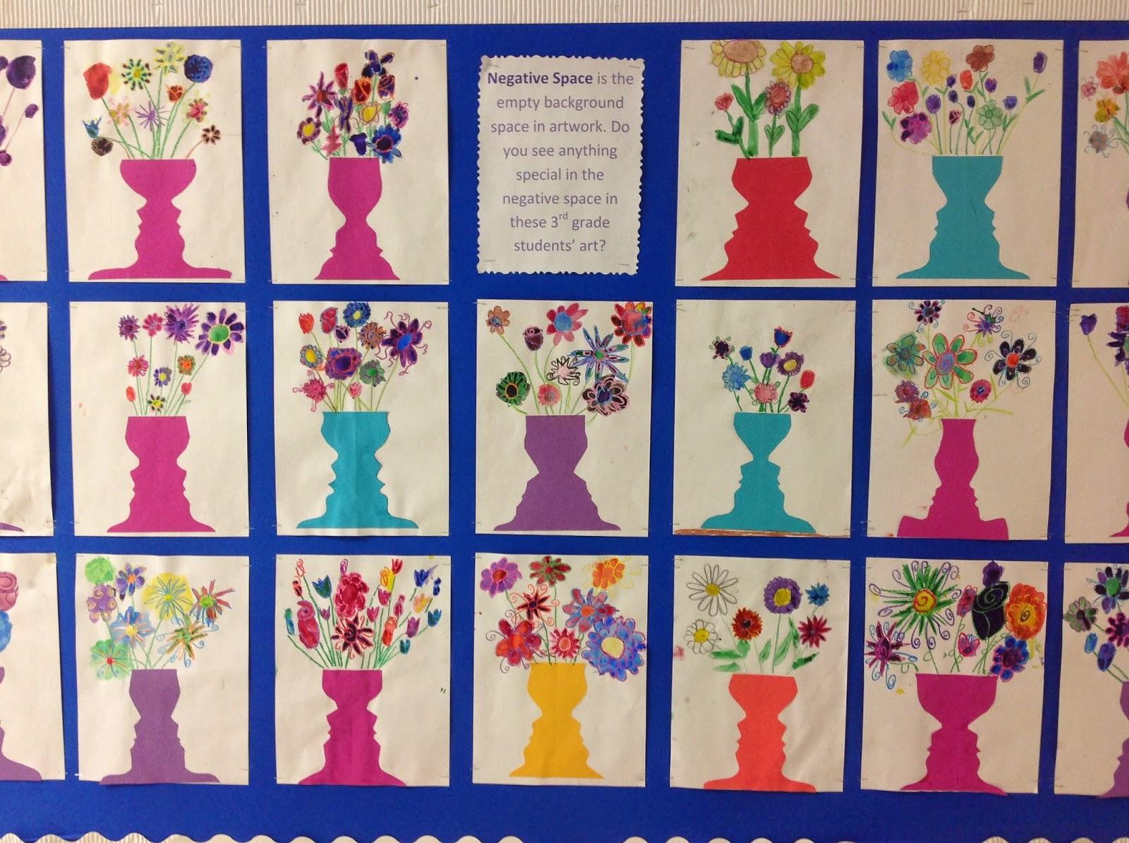 Miss Young's Art Room: 3rd Grade Art Bulletin Board