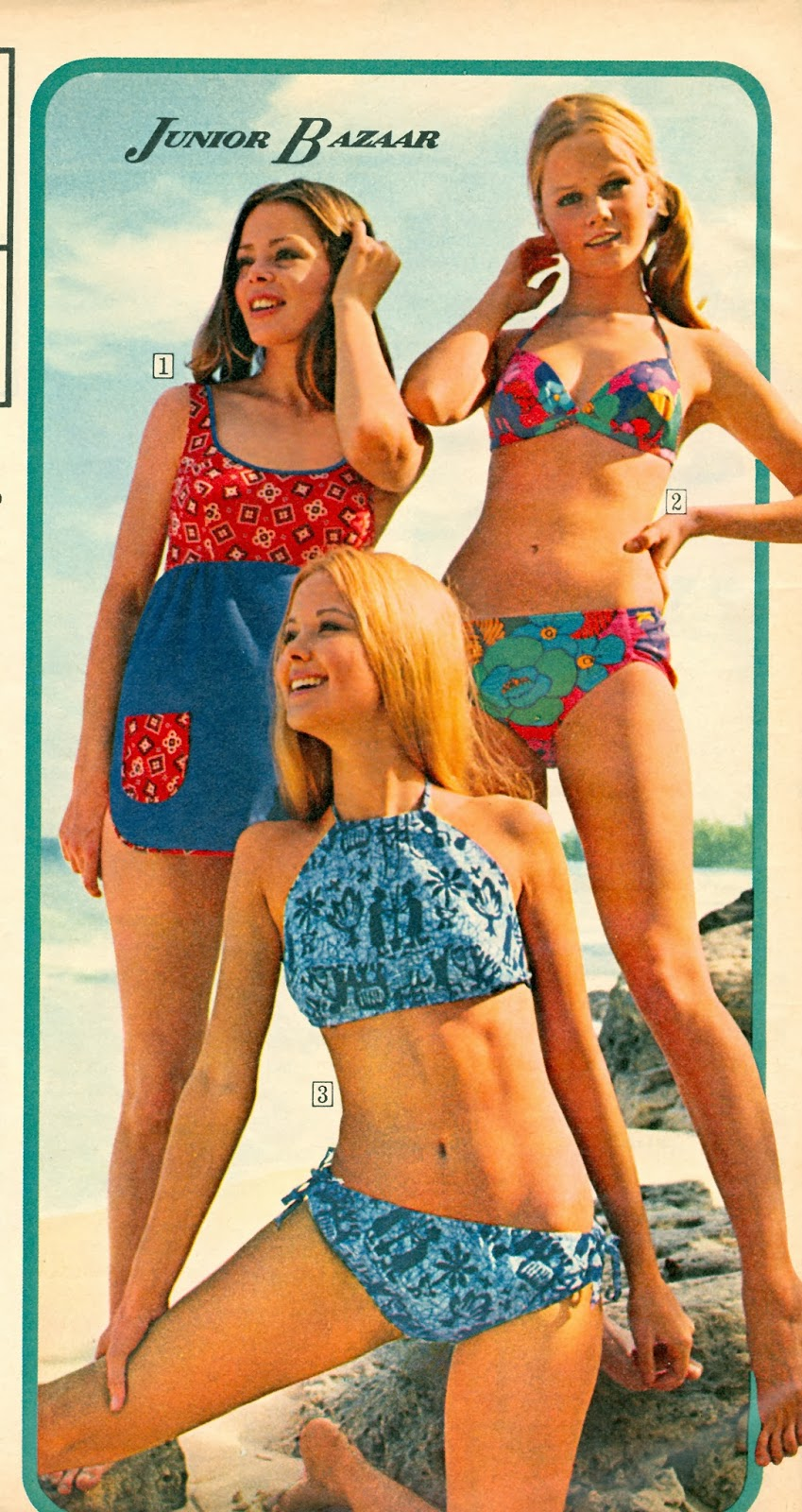 Swimsuits 70s