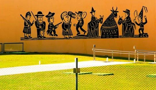 Pintura Externa da Estação Cabo Branco - Foto: Fábio Fernandes