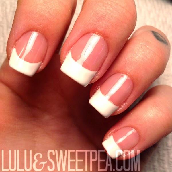 Gel Nail Polish French Manicure: Lulu & Sweet Pea: DIY Gel Nails At Home